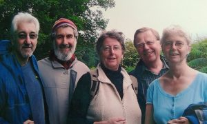 with Jim, Jo and Rob